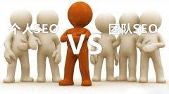 SEO快速排名选择个人还是团队优化