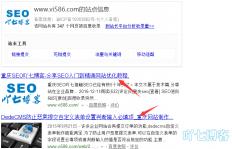解读SEO查询命令site结果展示与权重排名关系