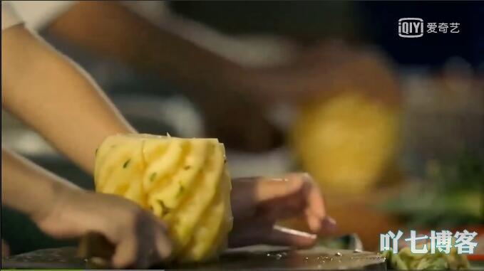 泰国菠萝冰糕广告