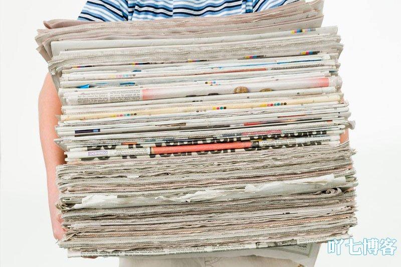 通过报纸杂志获取信息
